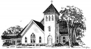 Drawing of New Church